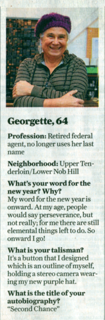 Georgette in the news